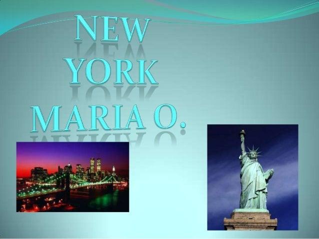 New York   María O.