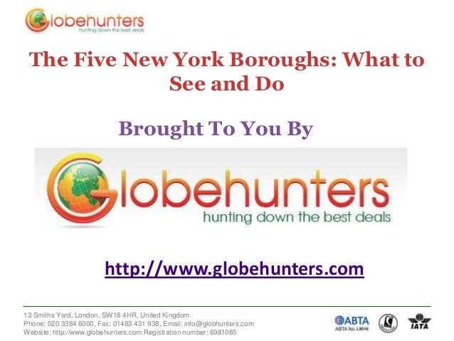 Booking Holidays to New York with Globehunters