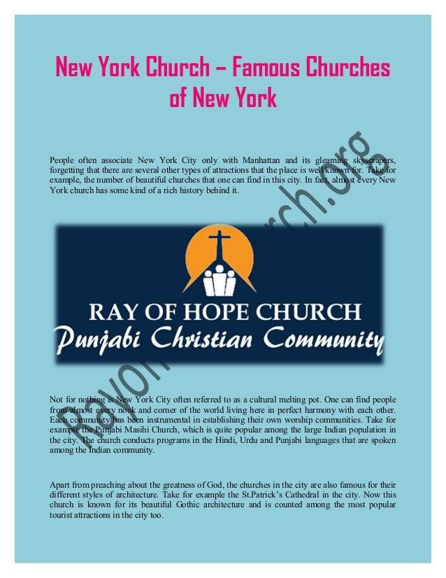 New York Church – Famous Churches of New York