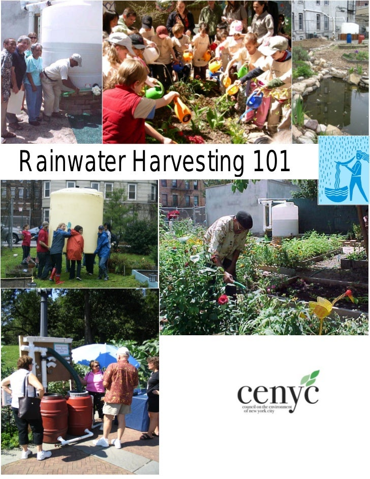 New York City: Rainwater Harvesting Manual