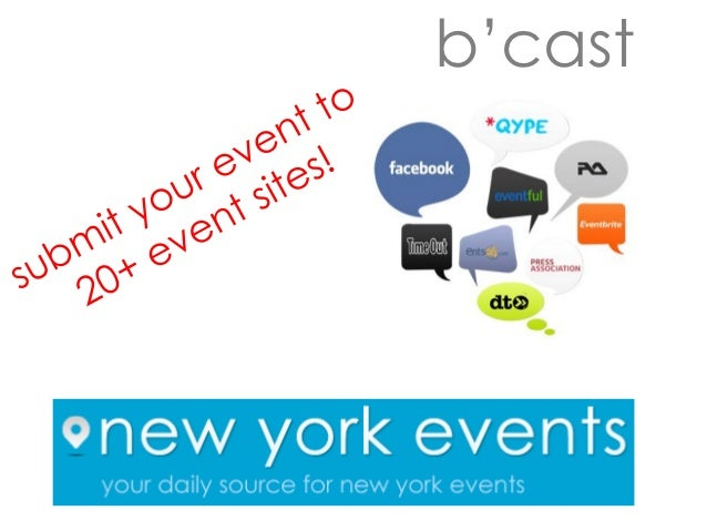 New York Events b'cast