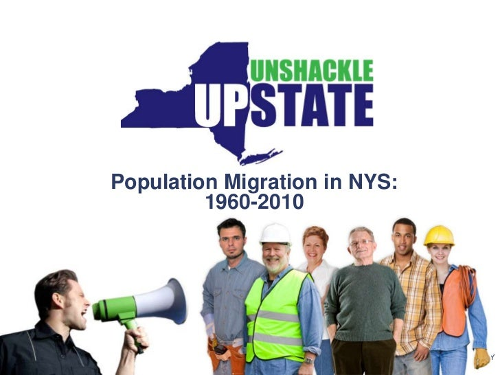 Population Migration in NYS: 1960-2010