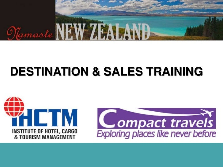 DESTINATION & SALES TRAINING<br />