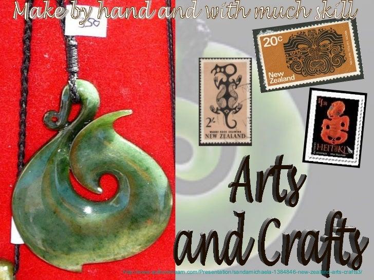 http://www.authorstream.com/Presentation/sandamichaela-1384846-new-zealand-arts-crafts3/