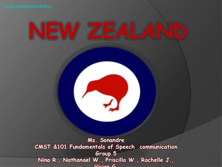 http://en.wikipedia.org/wiki/Kiwi                  NEW ZEALAND                                       Ms. Sonandre         ...