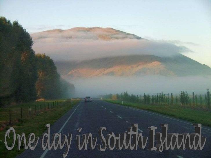 One day in South Island