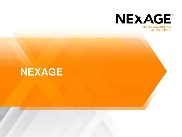 Nexage slide for mobile monday
