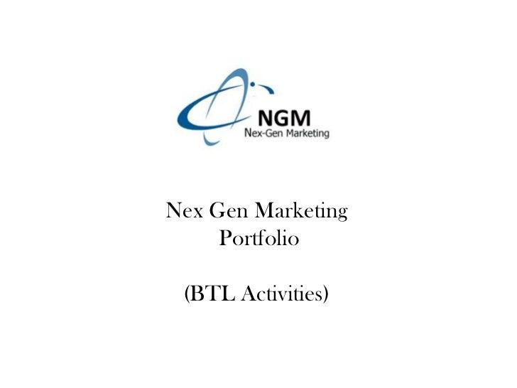 Nex gen marketing (portfolio)
