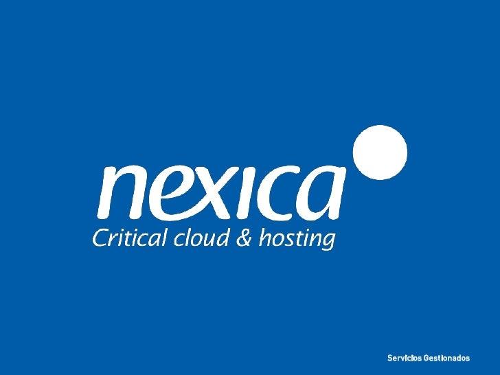 Nexica servicios gestionados_2012