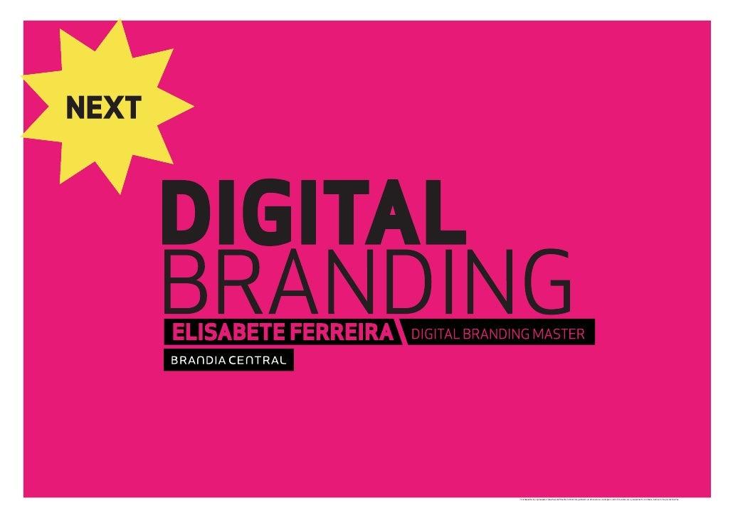 Digital Branding 09 - Brandia Central - Elisabete Ferreira