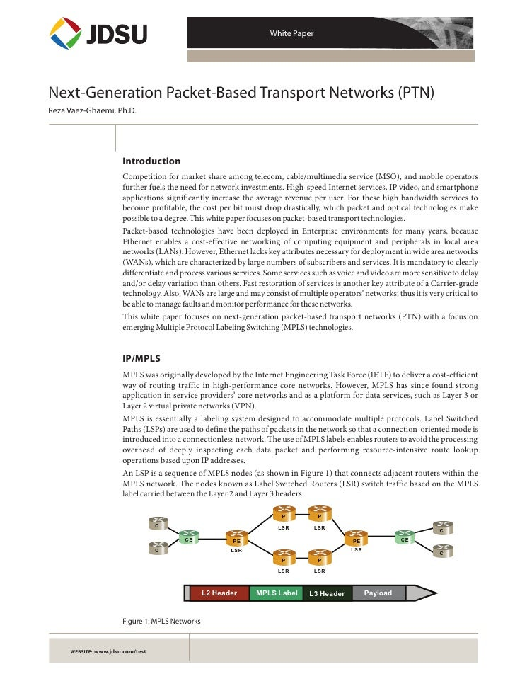 Next generation-ptn-white-paper
