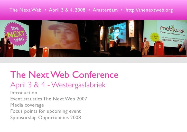 Next Web Sponsorship 08