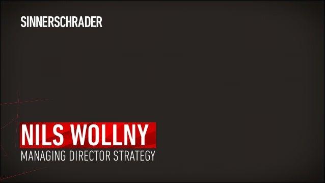 NILS WOLLNY MANAGING DIRECTOR STRATEGY
