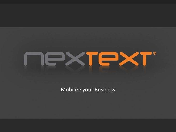 Nextext (english vesion)