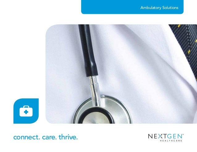 Ambulatory Solutions connect. care. thrive.