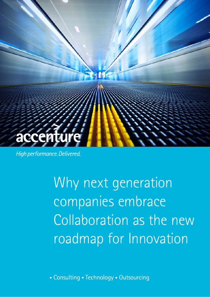 Why next generation companies embrace Collaboration as the new roadmap for Innovation