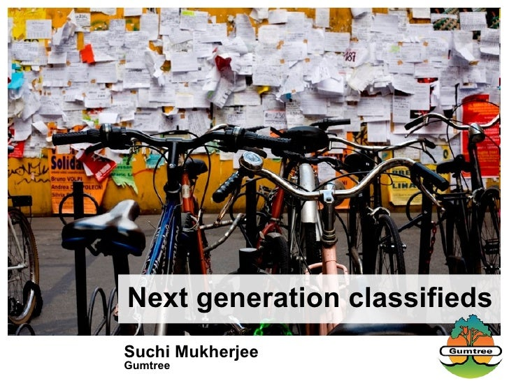 Suchi Mukherjee Gumtree Next generation classifieds