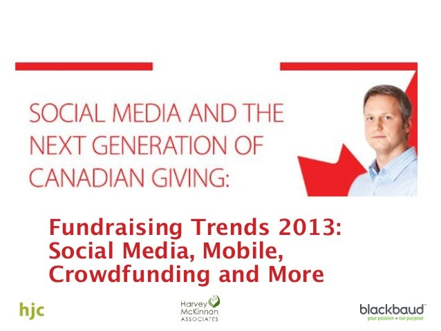 Fundraising Trends and the Next Generation of Canadian Giving