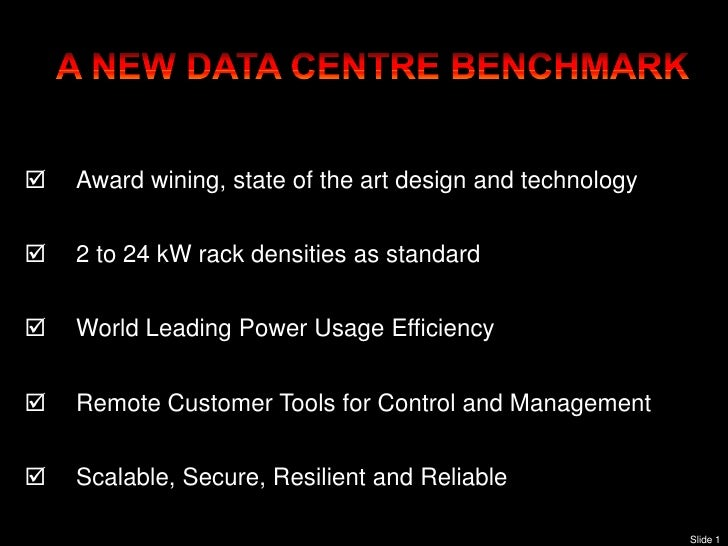 `       Award wining, state of the art design and technology       2 to 24 kW rack densities as standard       World Le...