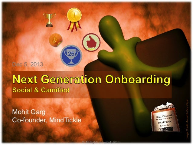 Next Generation Onboarding - Social, Gamified and Mobile