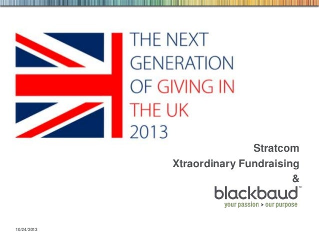 Stratcom Xtraordinary Fundraising &  10/24/2013