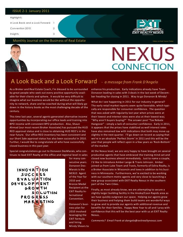 Nexus connection 2011 january edition