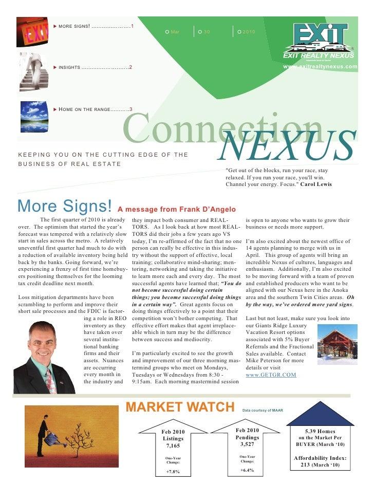 Nexus  Connection  March 30 2010