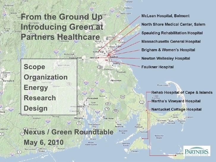 Greening Partners Healthcare