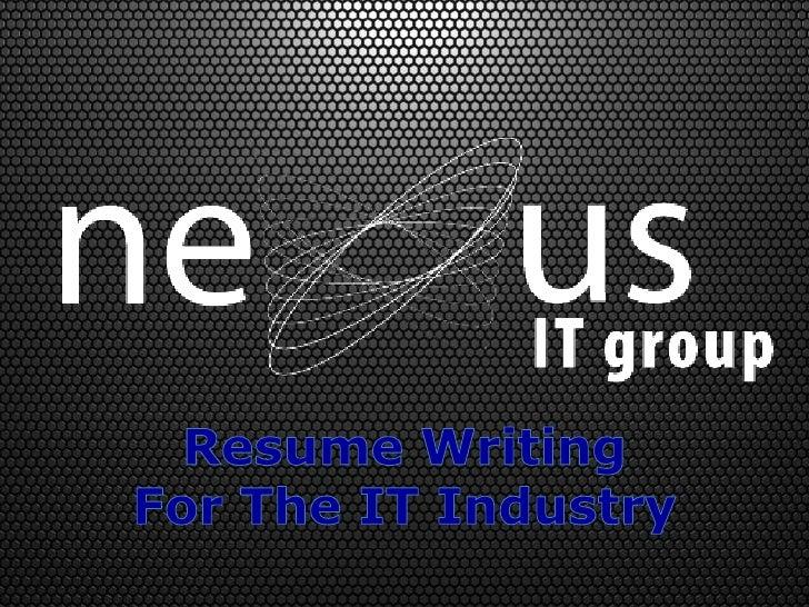 Expert resume writing group