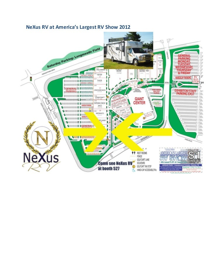 NeXus RV at America's Largest RV Show 2012
