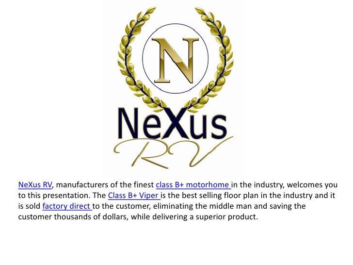 NeXus RV class b plus
