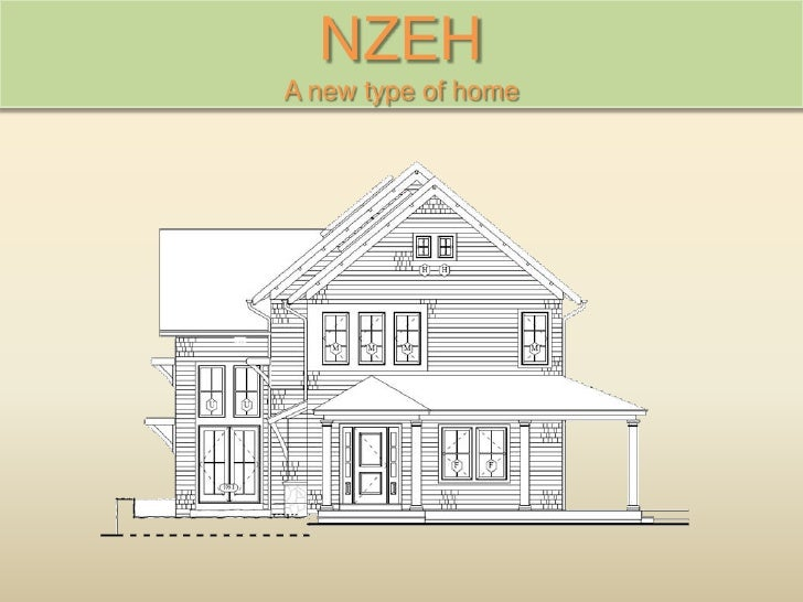 NZEH A new type of home