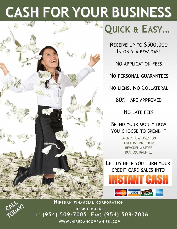 Nfc Business Cash Advance Flyer