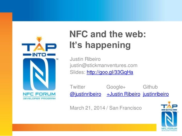 NFC and the Web