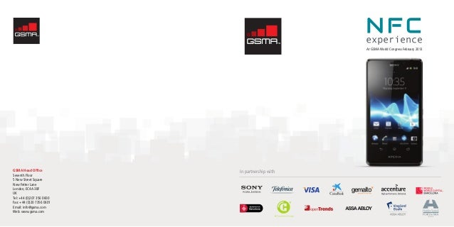 In partnership withAt GSMA World Congress February 2013GSMA Head OfficeSeventh Floor5 New Street SquareNew Fetter LaneLond...