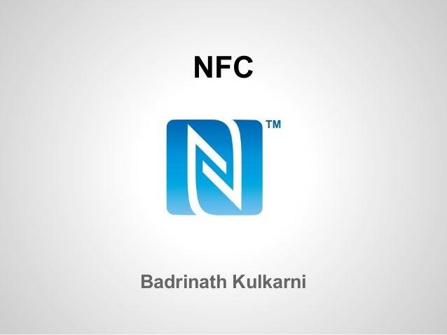 NFC  Badrinath Kulkarni