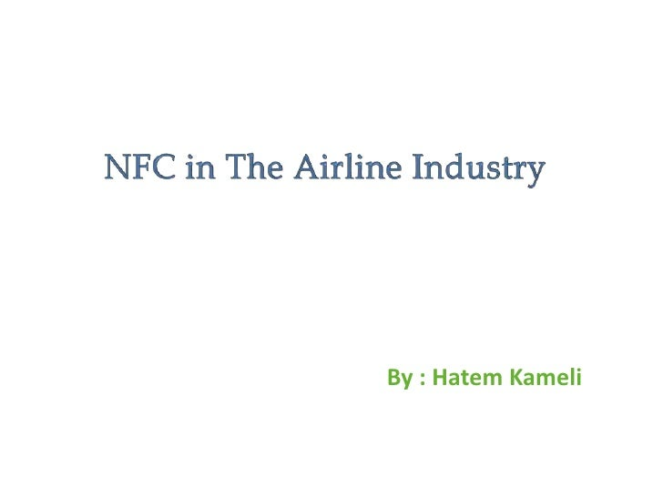Mobile NFC @ Airlines