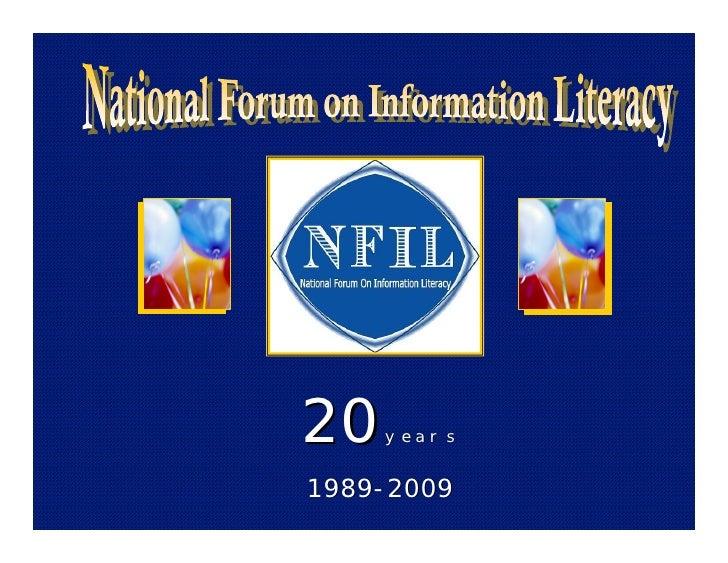 20   years   1989-2009