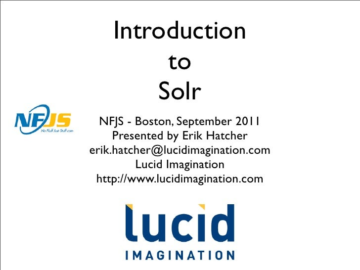 Introduction to Solr