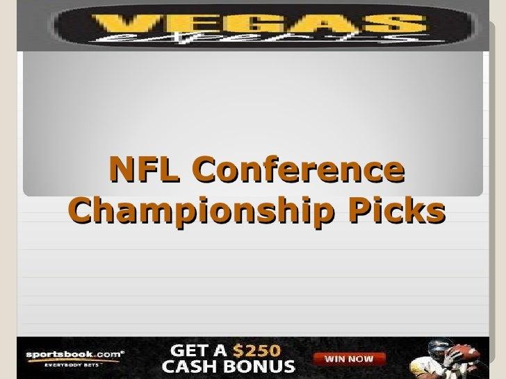 Nfl conference championship picks