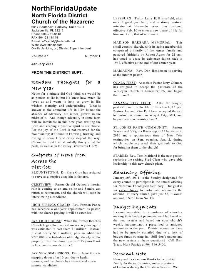 Nfl district news jan feb 2011