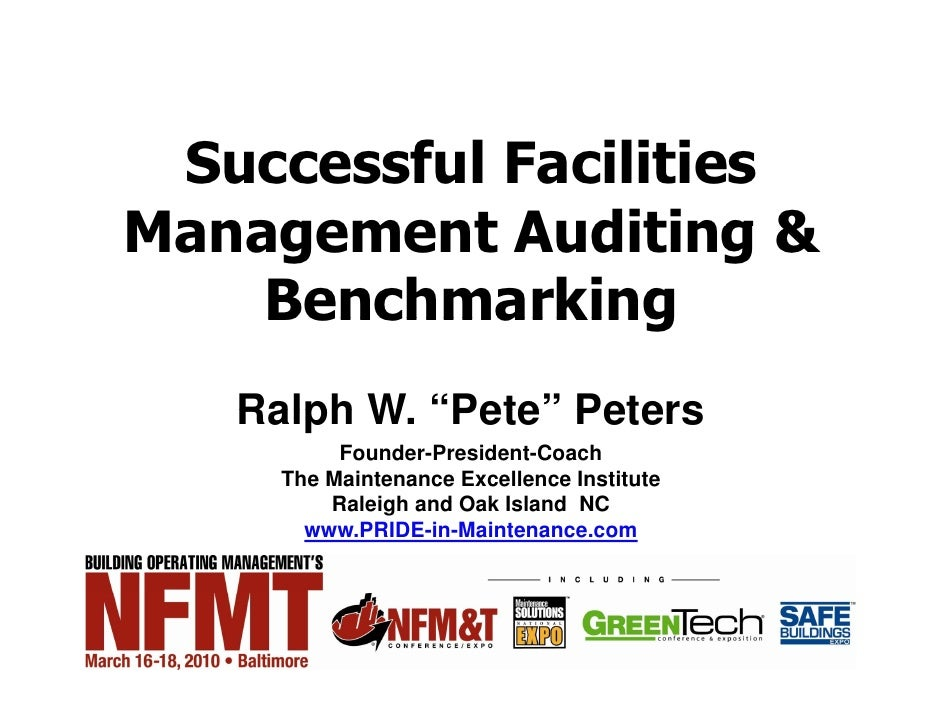 SESSION NO.: R4.39          Thursday, MARCH 18, 2010        ROOM NO.: 339           Successful Facilities      Management ...