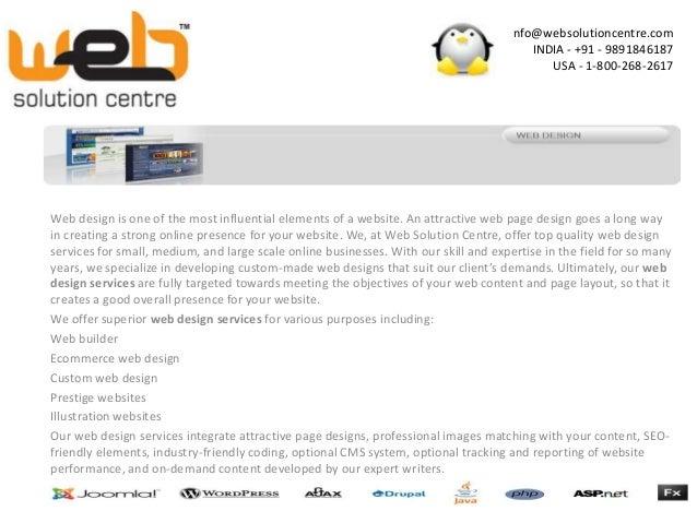 Website Designing Company in Delhi - www.websolutioncentre.com