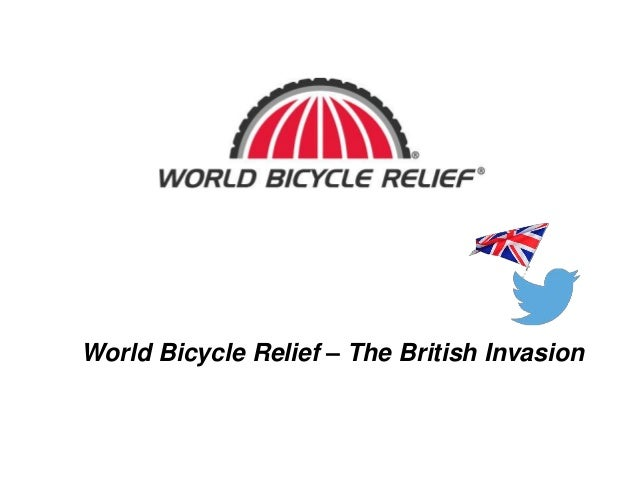 World Bicycle Relief - the British Invasion