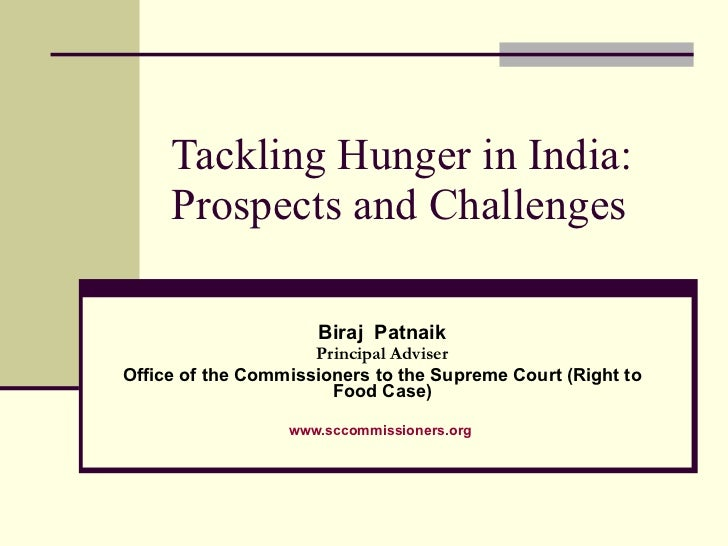 Tackling Hunger in India