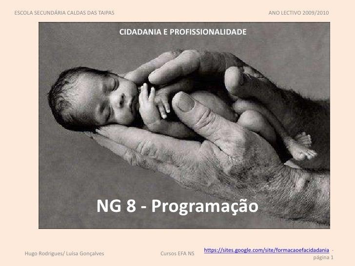 Ng 8   programação
