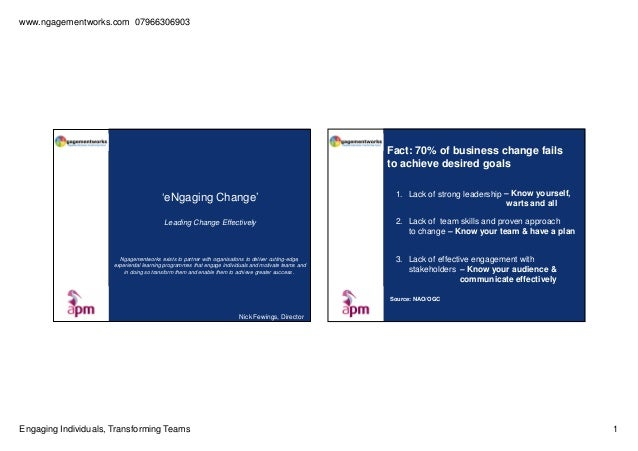 Ngagementworks learning slides