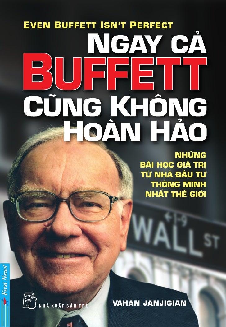 Ngay cả Buffet cũng không hoàn hảo