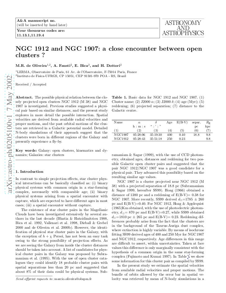 Ngc1912 and ngc 1907_close_encounter_between_open_clusters