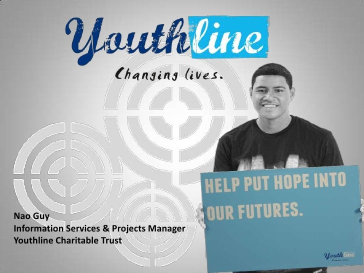 Nao GuyInformation Services & Projects ManagerYouthline Charitable Trust